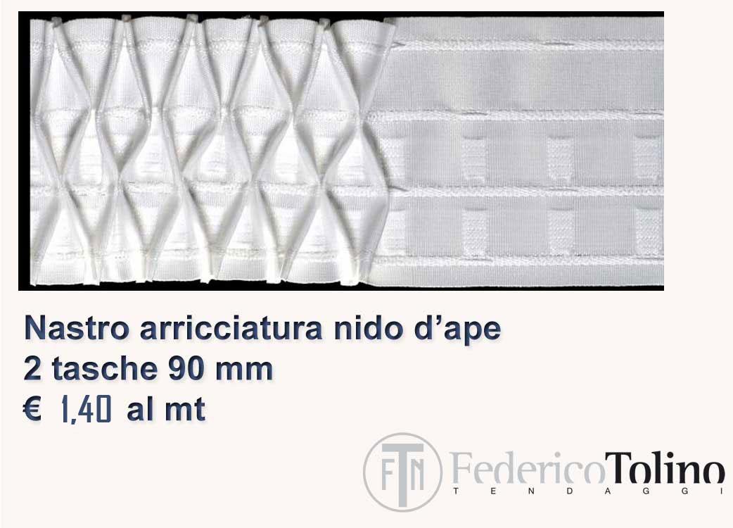 professionale Fettuccia riloga,arricciatenda per tende e tendaggi NIDO D/'APE